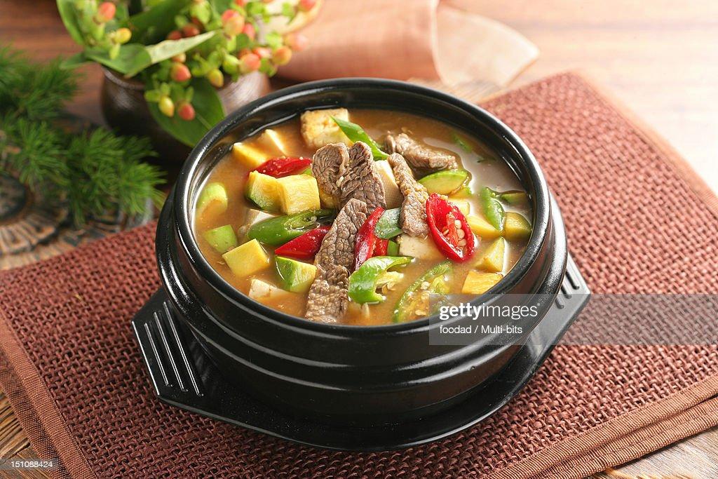 Korean food, Doenjangjjigae
