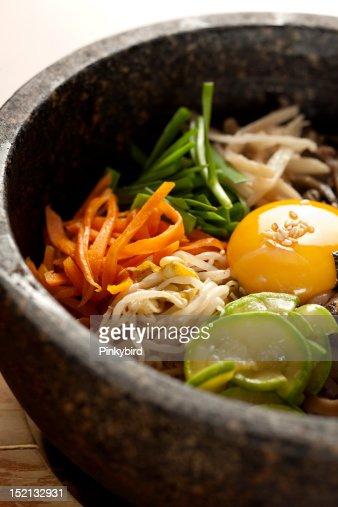 korean food, eating