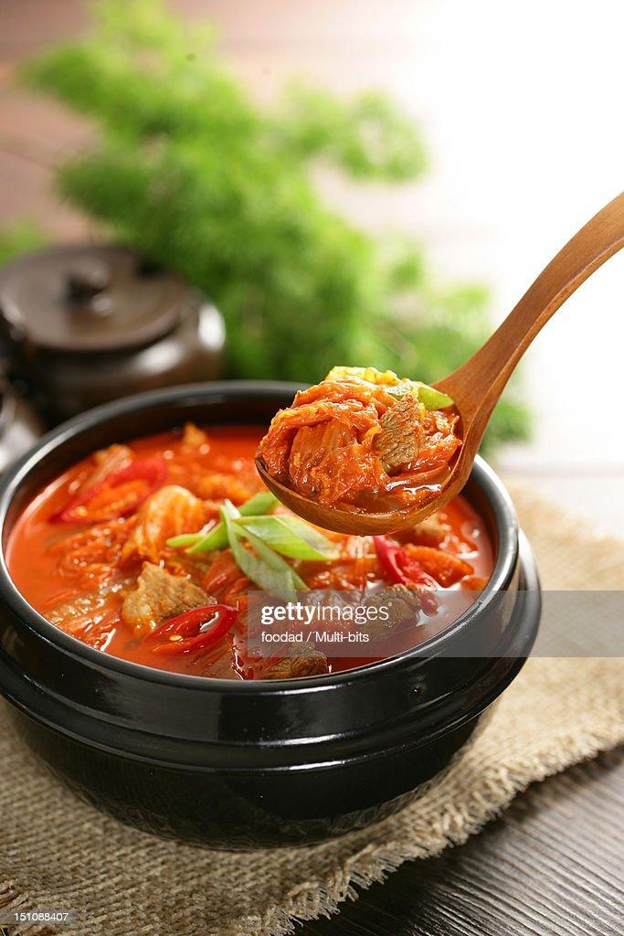 Korean food, Kimchijjigae