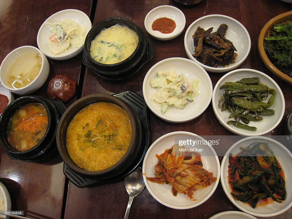 Korean food : Stock Photo