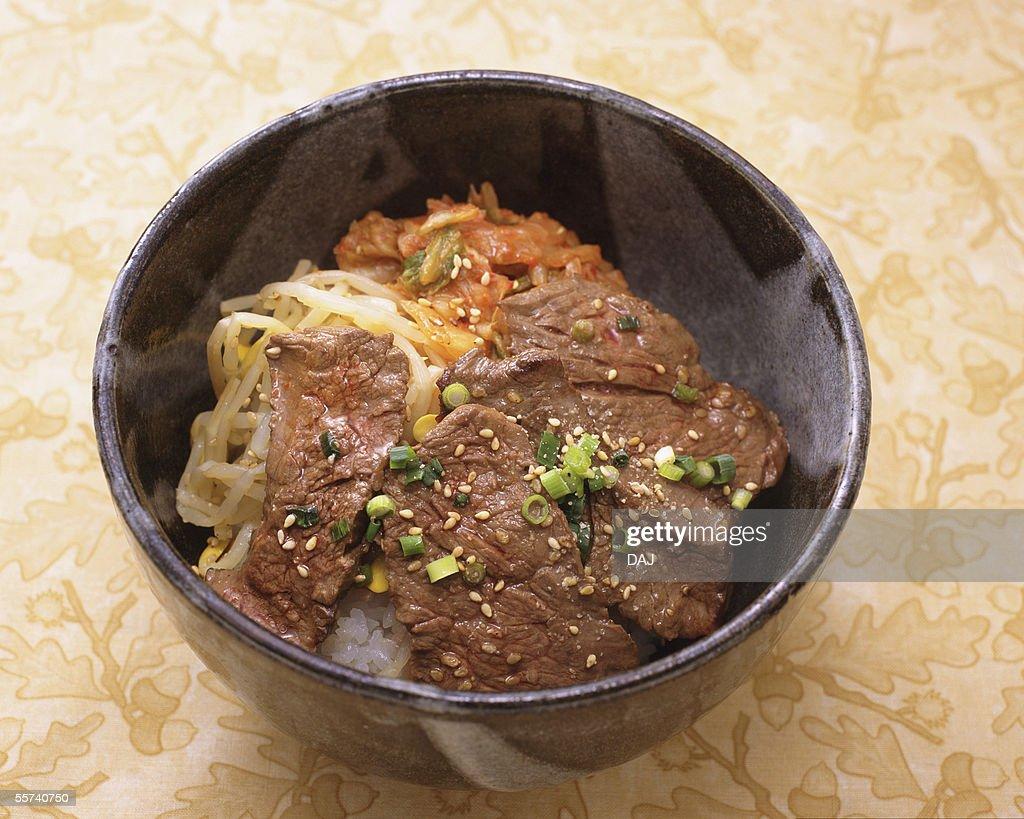 Korean food : Stock Photo