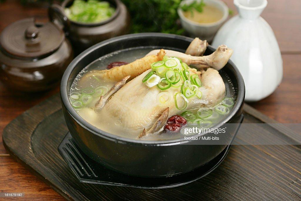 Korean food, Samgyetang