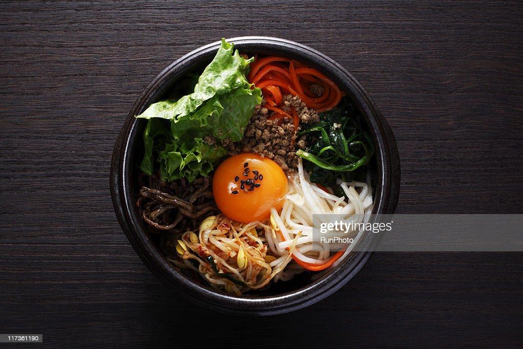korean food,bibimbap : Stock Photo