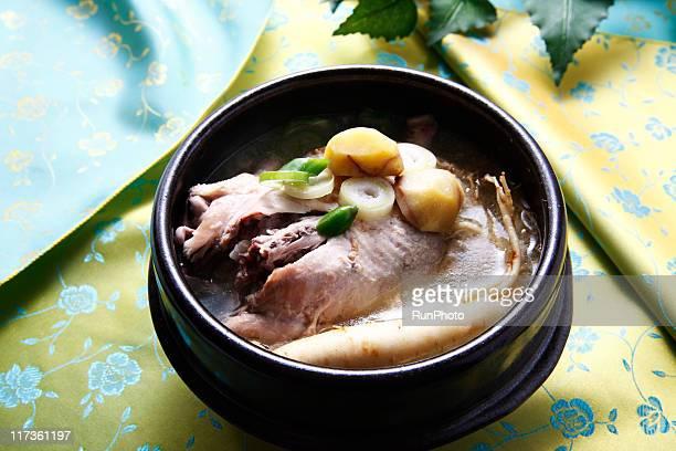 korean food,samgyetang
