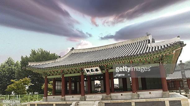 Korean Style Built Structure in Suwon Castle