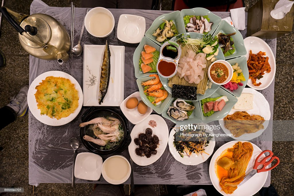 Korean traditional dishes