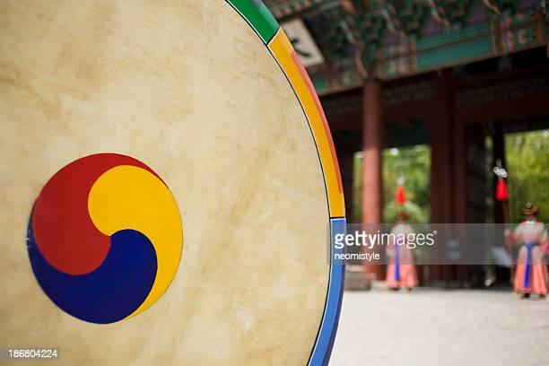 Korean traditonal tambour