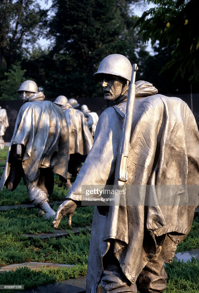 Korean War Veterans Memorial, Washington