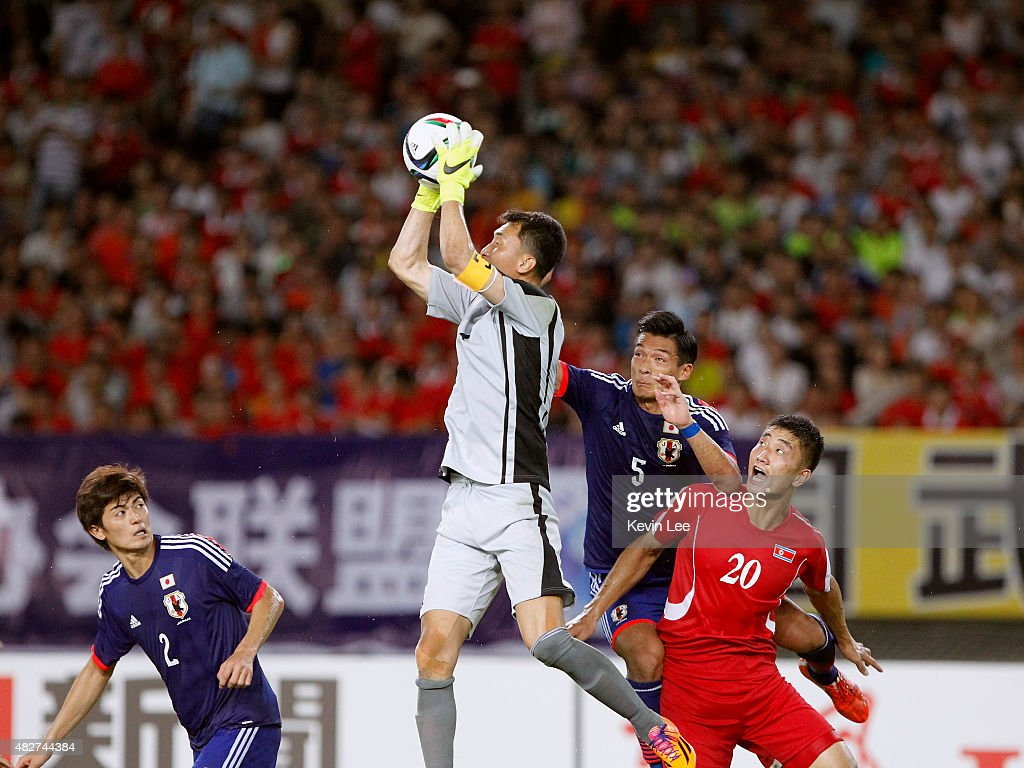 DPR Korea v Japan - EAFF East Asian Cup 2015