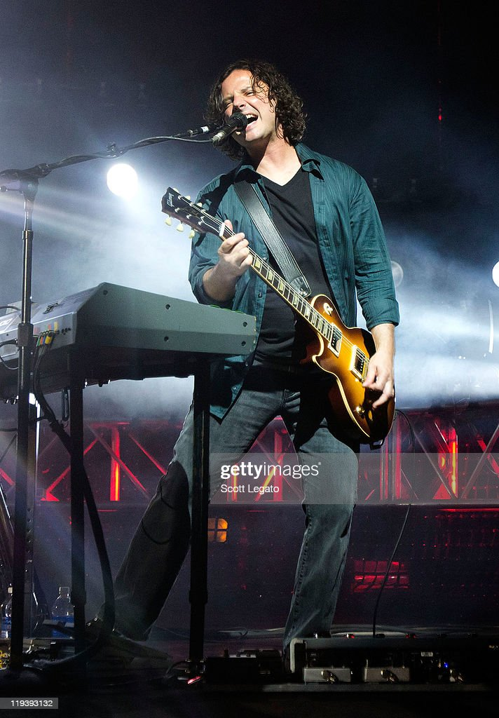 Korel Tunador of The Goo Goo Dolls performs at the Meadow Brook Music Festival on July 17, 2011 in Rochester, Michigan.