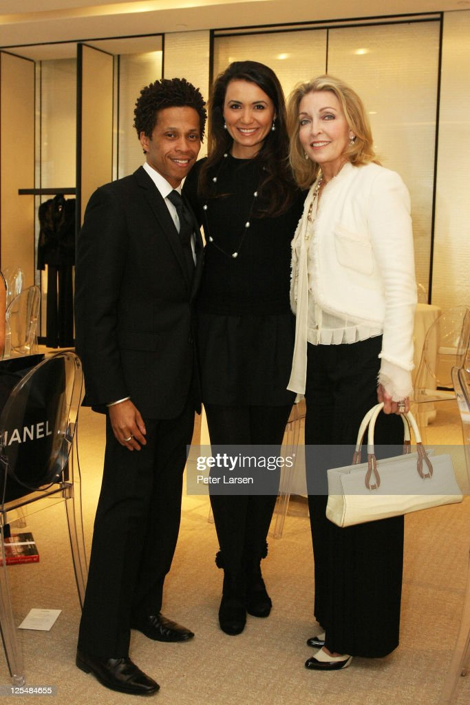 (L R) Korey Williams, Kimberly Whitman And Jan Showers Attend The Jamee  Gregory Book Signing Event At Chanel Boutique Dallas On December 2, 2010 In  Dallas, ...