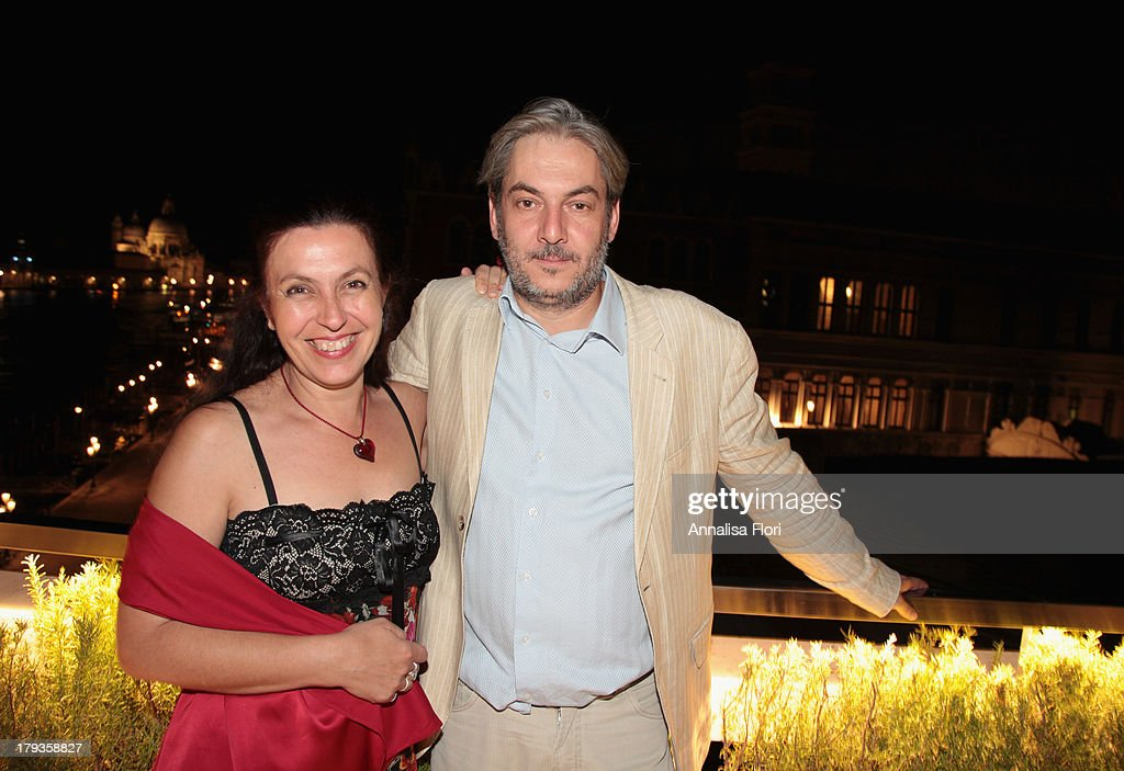 Korinna Danielou and Laurent Danielou attend the Beijing International Film Festival (BJIFF) Organization Committee Reception during the 70th Venice International Film Festival at the Danieli Hotel - La Terrazza on August 31, 2013 in Venice, Italy.