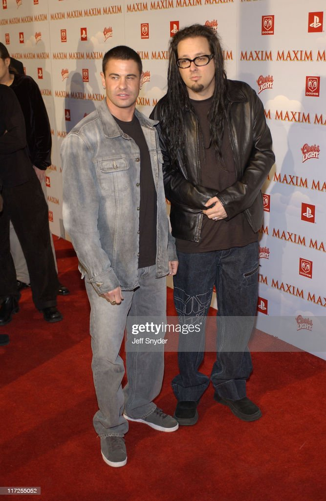Korn during The Maxim Party at Super Bowl XXXVII at The Old Wonderbread Factory in San Diego, CA.