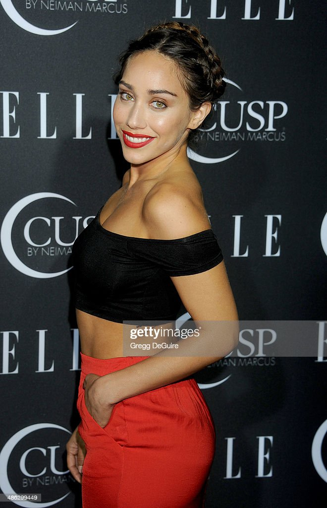Korrina Rico arrives at ELLE's 5th Annual Women In Music concert celebration at Avalon on April 22, 2014 in Hollywood, California.