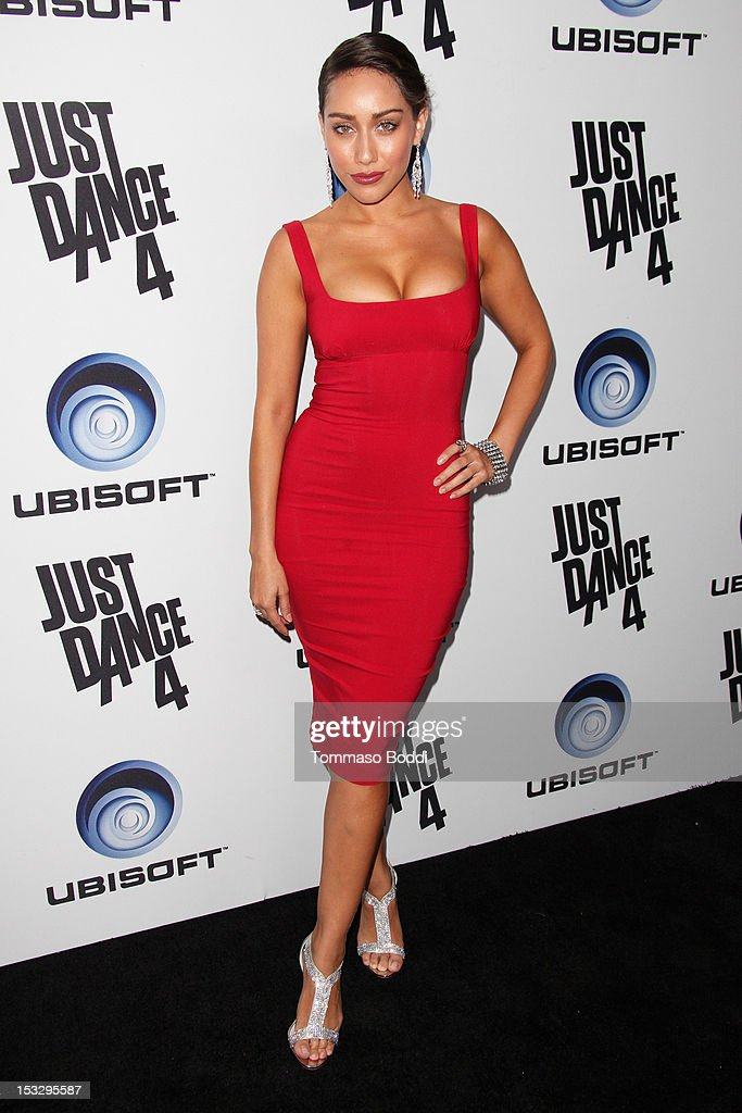 Korrina Rico attends the Ubisoft presents the launch of 'Just Dance 4' held at Lexington Social House on October 2, 2012 in Hollywood, California.