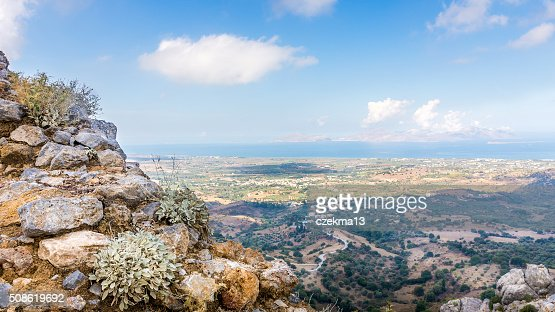 Kos island panorama : Stock Photo