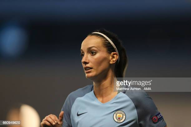 Kosovare Asllani of Manchester City during the UEFA Women's Champions League Quarter Final second leg match between Manchester City and Fortuna at...
