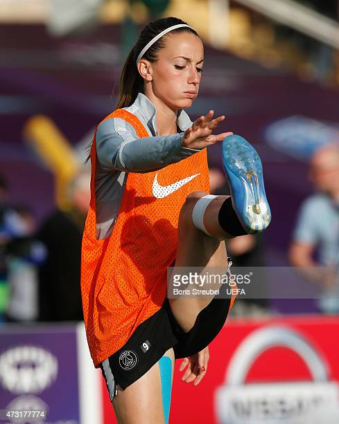 Kosovare Asllani of Paris St Germain during the training session the day before the UEFA Women's Champions League Final match between 1 FFC Frankfurt...