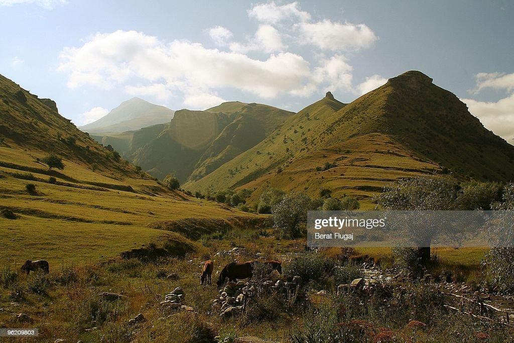 Kosovo Landscape : Stock Photo