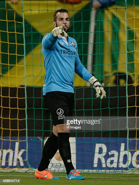 Kostas Lamprou of Willem II during the Dutch Eredivisie match between ADO Den Haag and Willem II Tilburg at Kyocera stadium on November 08 2014 in...