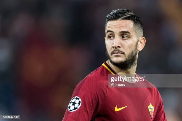 Kostas Manolas of AS Roma during the UEFA Champions League group C match match between AS Roma and Atletico Madrid on September 12 2017 at the Stadio...