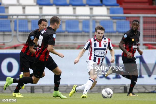 Kostas Tsimikas of Willem II during the Dutch Eredivisie match between Willem II Tilburg and sbv Excelsior at Koning Willem II stadium on August 13...
