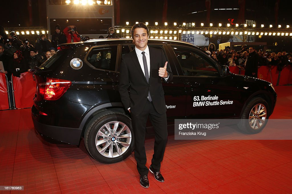 Kostja Ullmann attends 'The Croods' Premiere - BMW at the 63rd Berlinale International Film Festival at Berlinale Palast on February 15, 2013 in Berlin, Germany.