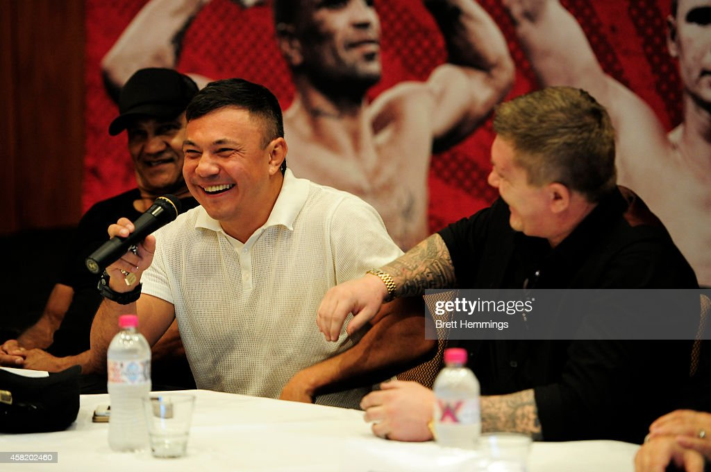 Anthony Mundine Press Conference