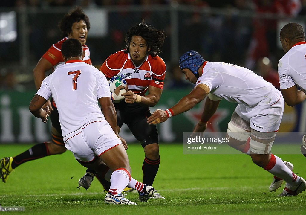 Tonga v Japan - IRB RWC 2011 Match 21