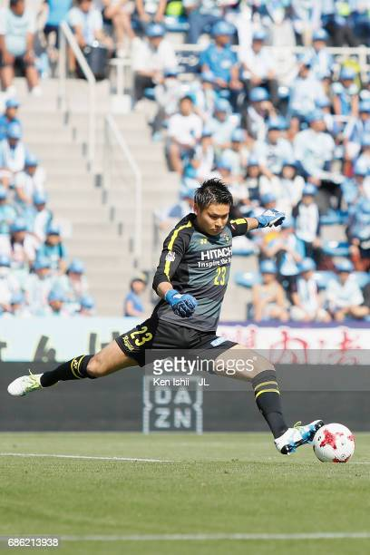 Kosuke Nakamura in action during the JLeague J1 match between Jubilo Iwata and Kashiwa Reysol at Yamaha Stadium on May 20 2017 in Iwata Shizuoka Japan