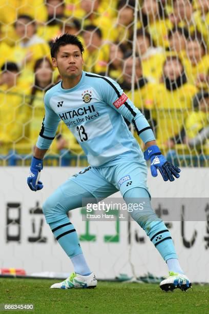 Kosuke Nakamura in action during the JLeague J1 match between Kashiwa Reysol and Shimizu SPulse at Hitachi Kashiwa Soccer Stadium on April 8 2017 in...