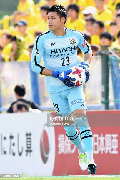Kosuke Nakamura in action during the JLeague J1 match between Kashiwa Reysol and Omiya Ardija at Hitachi Kashiwa Soccer Stadium on May 27 2017 in...