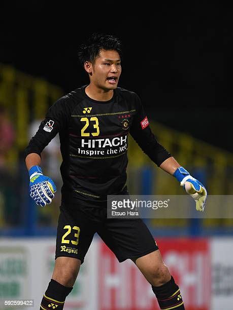 Kosuke Nakamura of Kashiwa Reysol in action during the JLeague match between Kashiwa Reysol and Nagoya Grampus at the Hitachi Kashiwa Soccer Stadium...