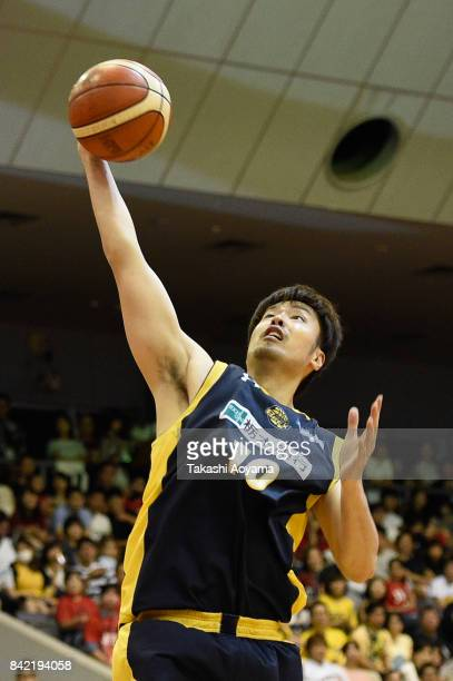Kosuke Takeuchi of the Tochigi Brex in action during the BLeague Kanto Early Cup 3rd place match between Kawasaki Brave Thunders and Tochigi Brex at...