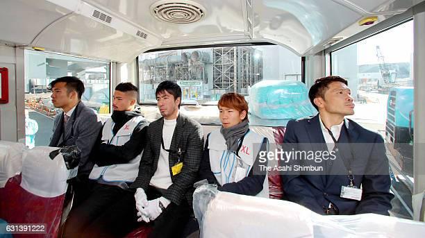 Kota Nitadori of Fagiano Okayama Akira Ando of Zweigen Kanazawa Takumi Watanabe of Fukushima United Shota Kaneko of Shimizu SPulse and Daiki Iwamasa...