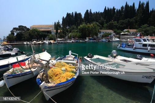 Kouloura resort, Corfu Island : Stock Photo