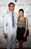 Kourtney Kardashian And Scott Disick visit Georgica Restaurant Lounge on July 4 2010 in East Hampton New York