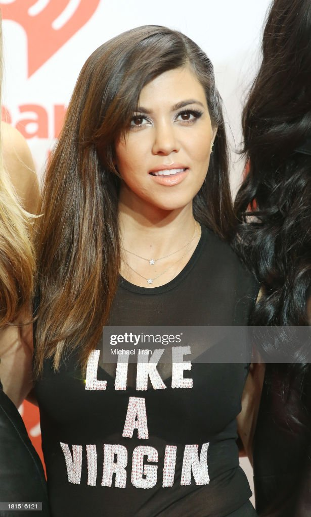 Kourtney Kardashian arrives at the iHeartRadio Music Festival - press room - Day 2 held on September 21, 2013 in Las Vegas, Nevada.