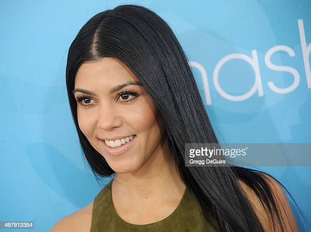 Kourtney Kardashian arrives at the WWD And Variety Inaugural Stylemakers' Event at Smashbox Studios on November 19 2015 in Culver City California