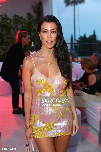 Kourtney Kardashian attends a dinner hosted by Jamie Reuben Michael Kives with Arnold Schwarzenegger to celebrate JeanMichel Cousteau's 'Wonders Of...