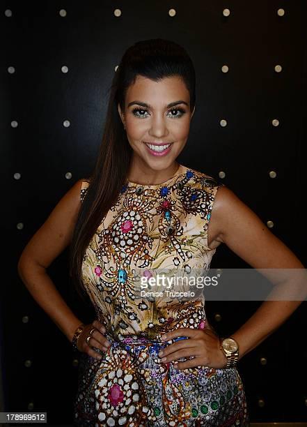 Kourtney Kardashian attends Kardashian Khaos at The Mirage Hotel Casino on August 31 2013 in Las Vegas Nevada