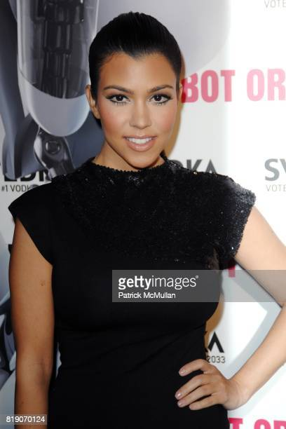 Kourtney Kardashian attends KIM KARDASHIAN vs KOURTNEY KARDASHIAN at SVEDKA VODKA'S 'RU BOT OR NOT' BATTLE OF THE BOTS at Wonderland on May 22 2010...