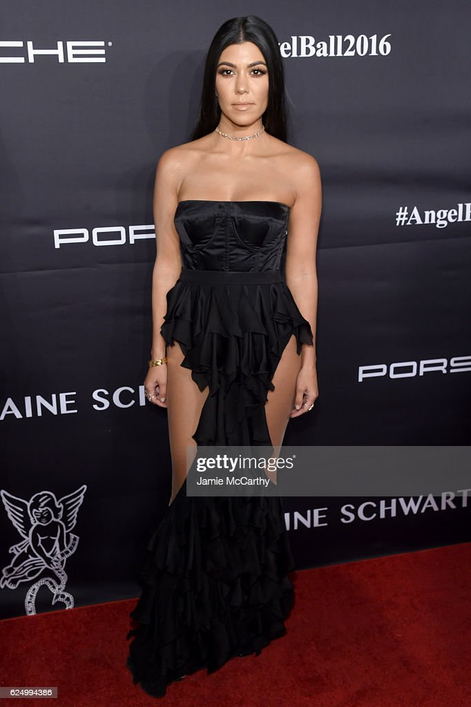 Kourtney Kardashian attends the 2016 Angel Ball hosted by Gabrielle's Angel Foundation For Cancer Research on November 21, 2016 in New York City.