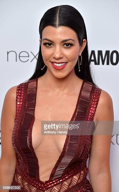 Kourtney Kardashian attends the Glamour Women Of The Year Awards at Berkeley Square Gardens on June 7 2016 in London England