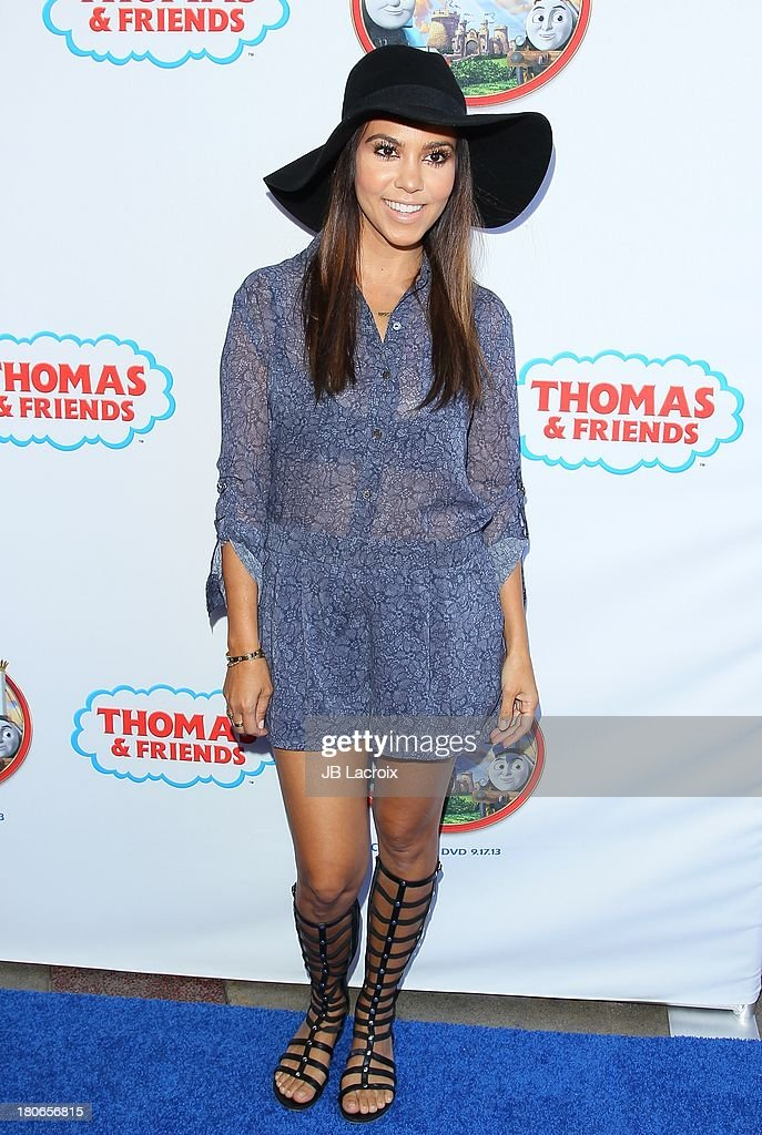 <a gi-track='captionPersonalityLinkClicked' href=/galleries/search?phrase=Kourtney+Kardashian&family=editorial&specificpeople=3955024 ng-click='$event.stopPropagation()'>Kourtney Kardashian</a> attends the 'Thomas & Friends: King Of The Railway - The Movie' Los Angeles Premiere held at Pacific Theatre at The Grove on September 15, 2013 in Los Angeles, California.
