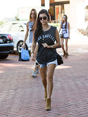 Kourtney Kardashian is seen on October 09 2015 in Los Angeles California