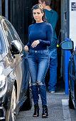 Kourtney Kardashian is seen on October 23 2015 in Los Angeles California