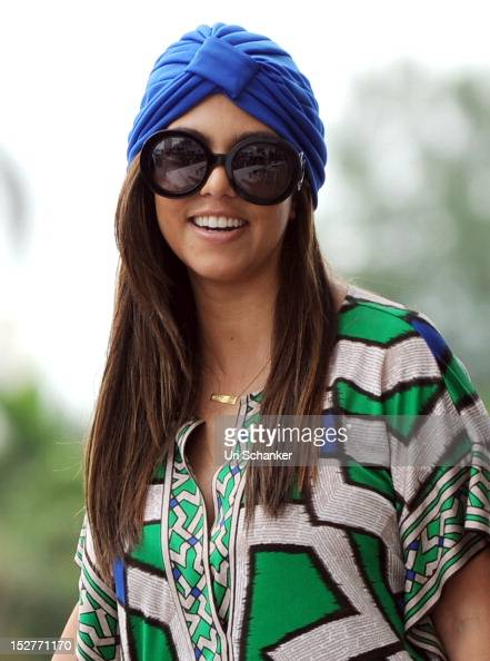 Kourtney Kardashian is sighted on September 25 2012 in Miami Florida