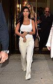 Kourtney Kardashian leaves Cipriani Downtown on September 14 2015 in New York City