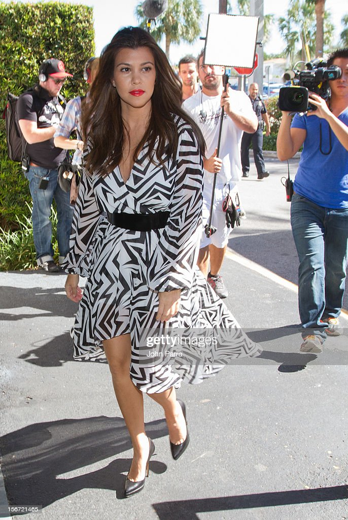 <a gi-track='captionPersonalityLinkClicked' href=/galleries/search?phrase=Kourtney+Kardashian&family=editorial&specificpeople=3955024 ng-click='$event.stopPropagation()'>Kourtney Kardashian</a> makes an appearance at the North Miami City Hall to receive key to the City Of North Miami on November 19, 2012 in North Miami, Florida.